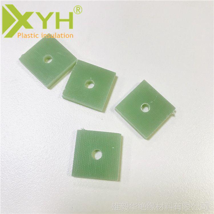 FR-4绝缘纤维板 水绿色环氧板 电子加工件