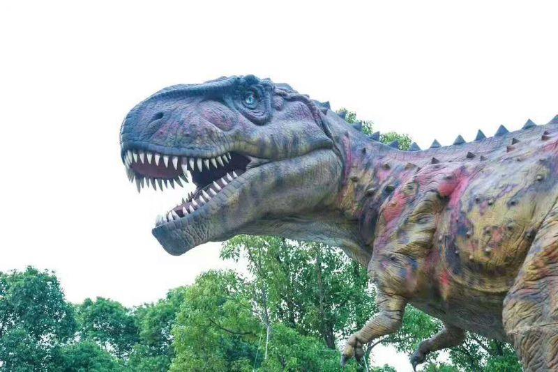 建业恐龙展道具布展 商业恐龙出租价格美丽
