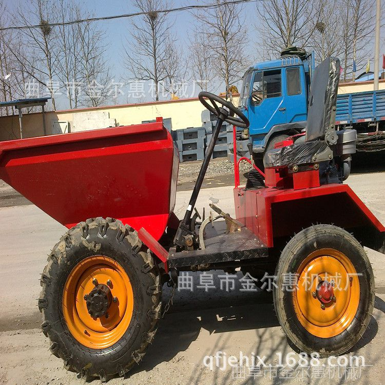 水泥运输的柴油蹦蹦车 果园运输的柴油运输车 混泥土用砂石翻斗车