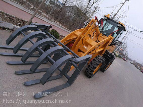 销售青州鲁装/青州山工/齐鲁装工945加长臂实心轮胎带上五下六实心抓子