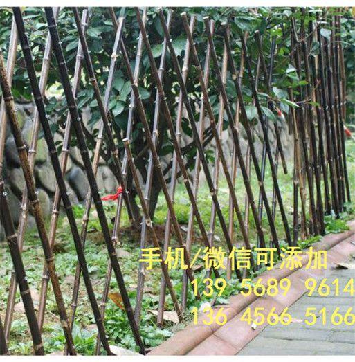 洛阳孟津花园庭院绿化塑钢护栏图片