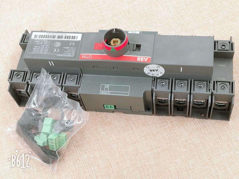 ABB供应双电源自动转换开关OTM1250E3C8D220C