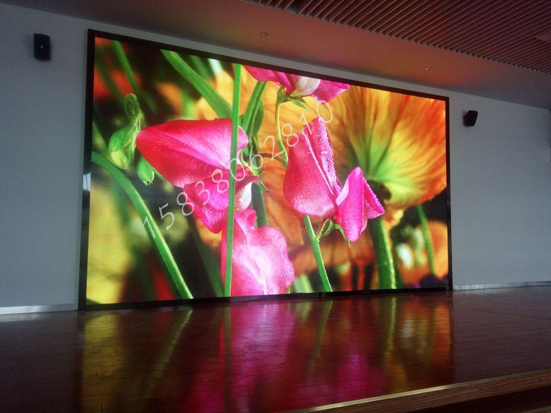 室内p2.5全彩LED显示屏高清效果展示