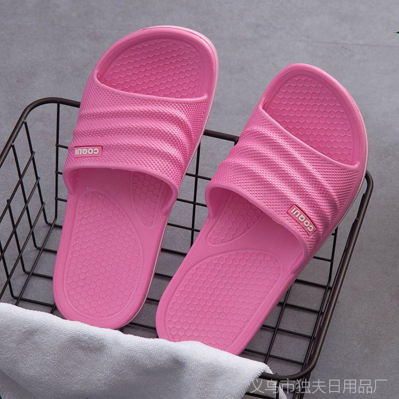 酷趣男款春夏防滑耐磨浴室拖鞋新款镂空运动休闲家居拖鞋批发