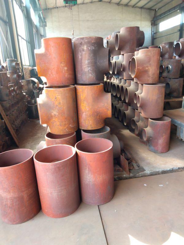 孟村三通厂三通加工中碳钢三通洲际重工