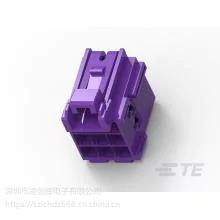 TE(泰科)汽车连接器胶壳系列1-967621-5原厂 渠道正品