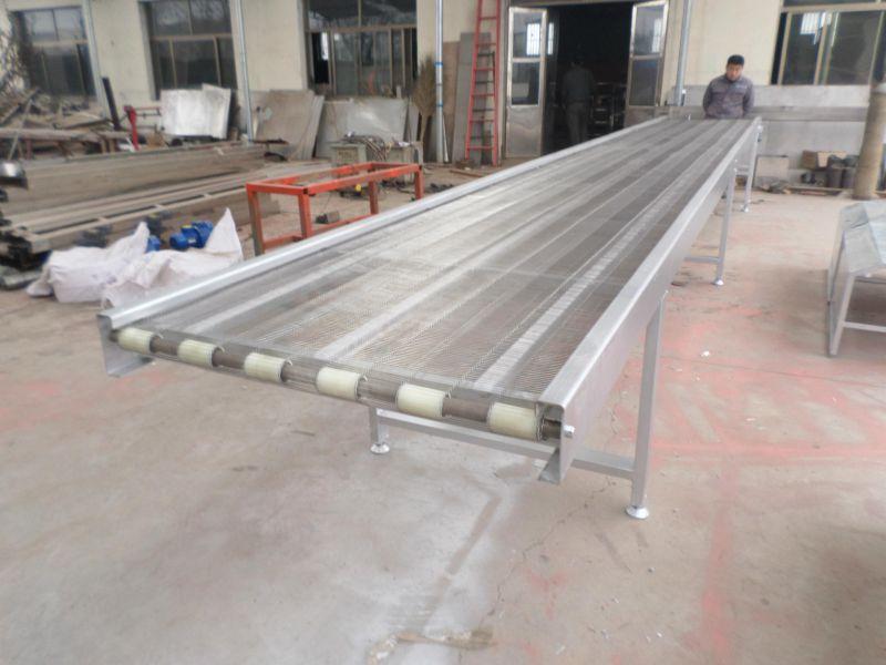 萧山挡板网带输送机 新品水平直线输送