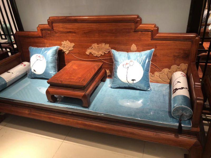 专卖镇海沙发店名厂淄博红木家具供应红木琢家具市场淄博图片