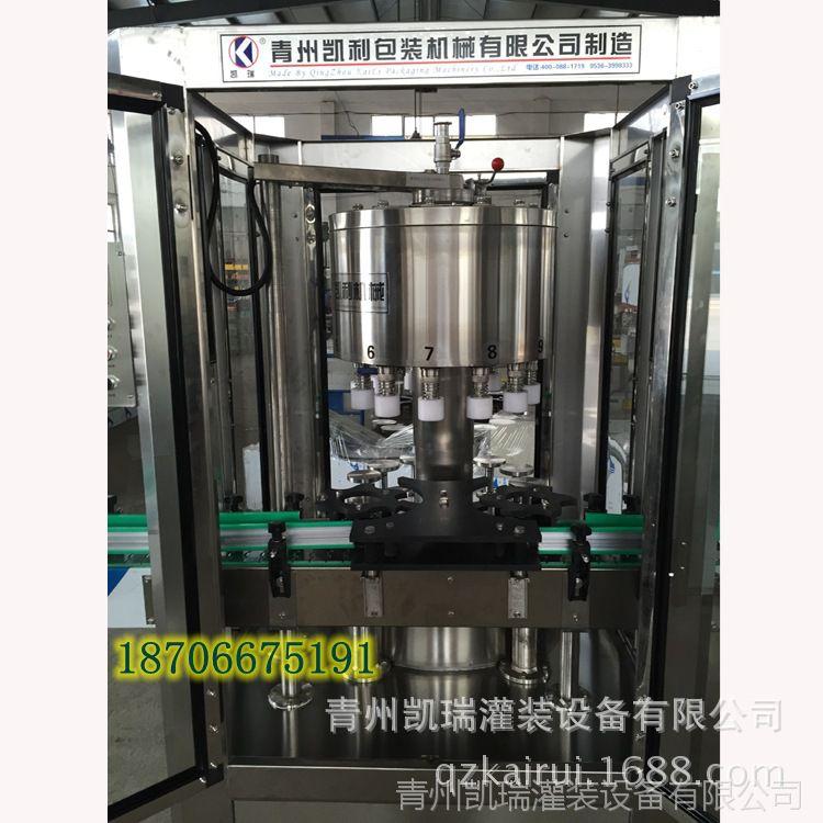 白酒自动定量灌装机玻璃瓶拖把灌装机云南液体灌装设备灌装机图片池白酒图片