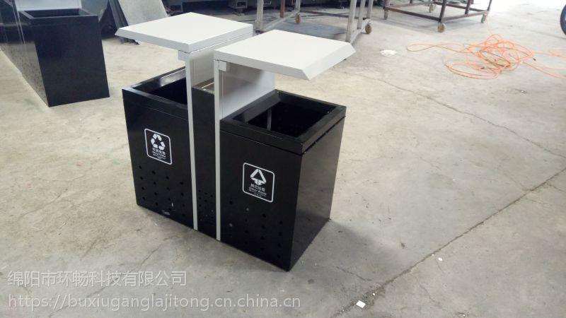 户外垃圾桶 品质好不好 你看了就知道的垃圾桶 高档小区垃圾箱