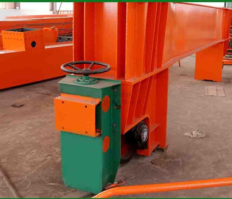 夹轨器10吨龙门吊防风防撞 夹轨器手动方向盘式