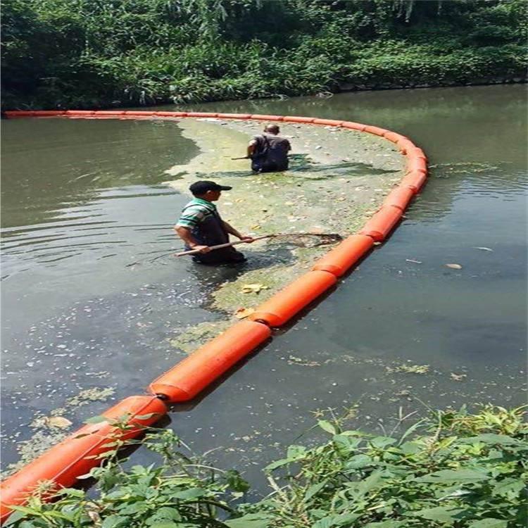 20,100 河道垃圾阻拦浮筒水面拦污塑料浮桶
