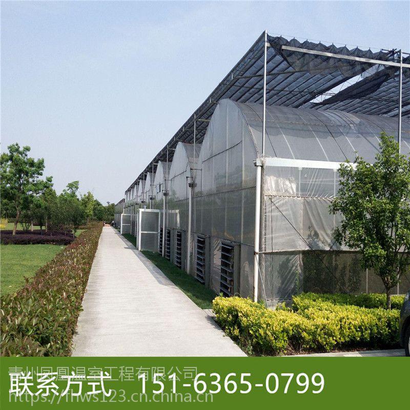 甘肃酒泉智能玻璃温室造价 每平方玻璃温室价格是多少