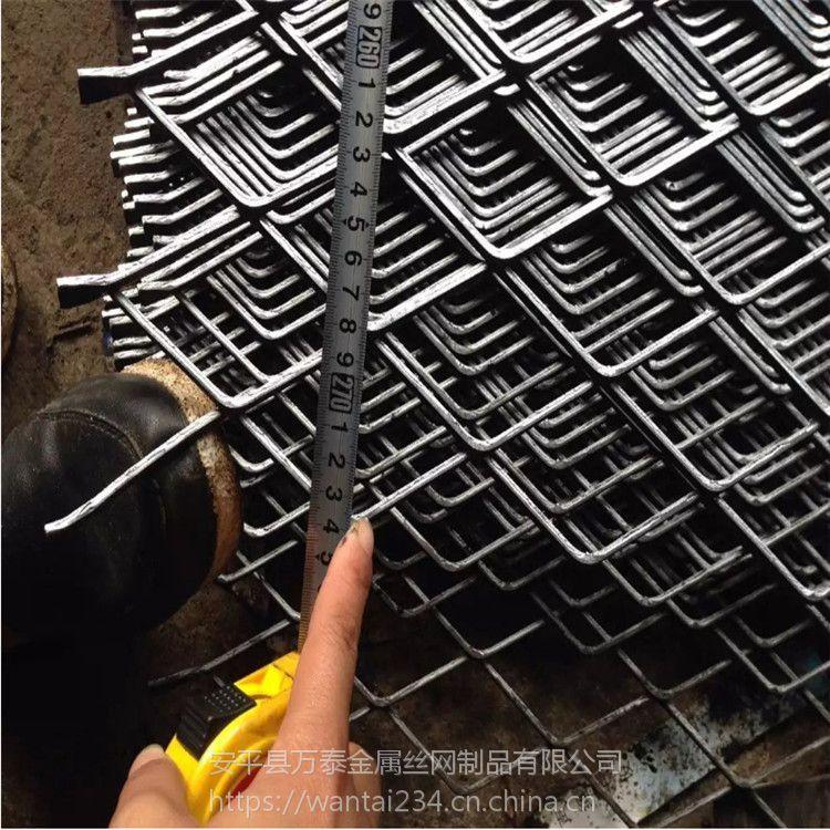 承重钢板网 菱形脚踏承重网 重型钢板拉伸网