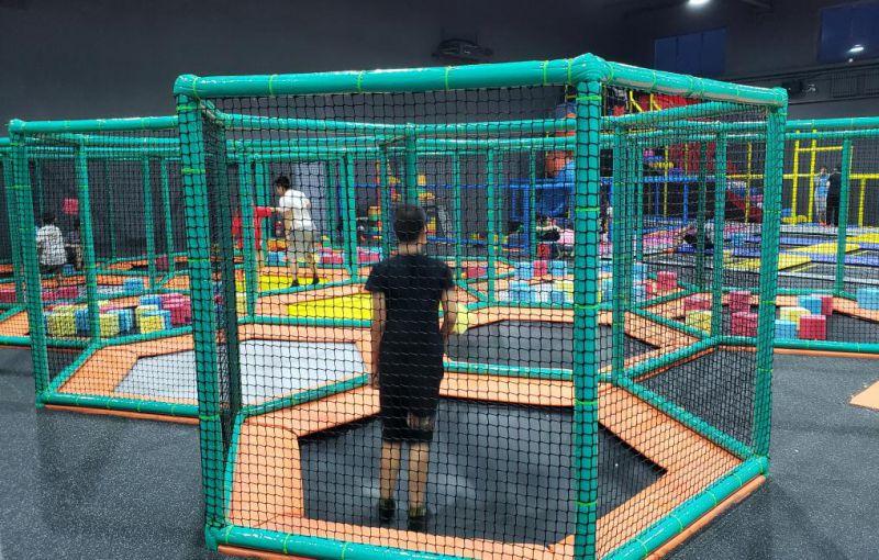 儿童超级蹦蹦床乐园 蹦极大型组合蹦蹦床 超级蹦蹦床公园粘粘乐