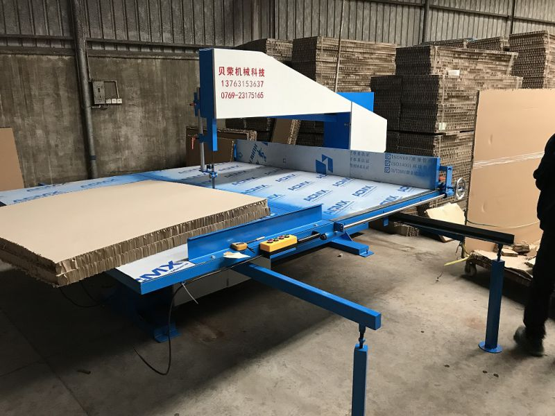 贝荣机械3L蜂窝纸板立切机
