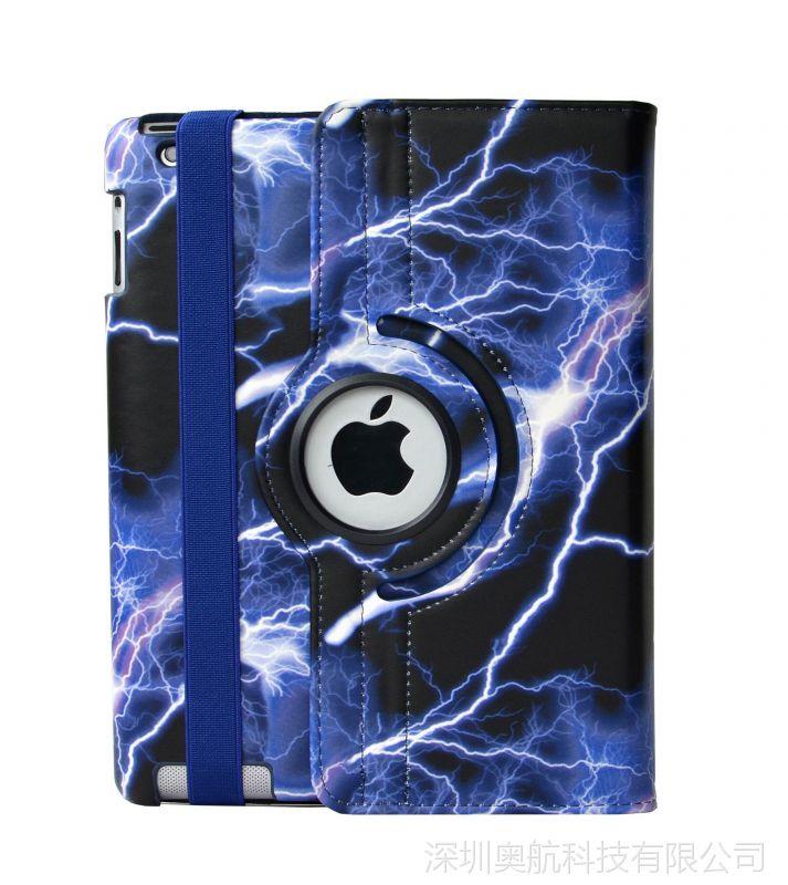 ipad保护套ipad2 3 4 ipadmini234 ipad5689 360旋转平板保护套