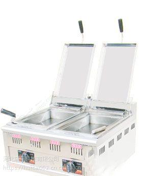 利川燃气双槽煎包子机商用生煎炉低价促销