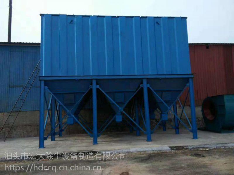 供应复合肥生产线气箱脉冲袋式除尘器出口排放浓度低