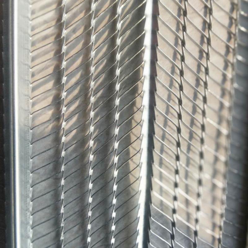 建筑墙体挂网@墙体喷灌浆用有筋扩张网@建筑免拆模板网