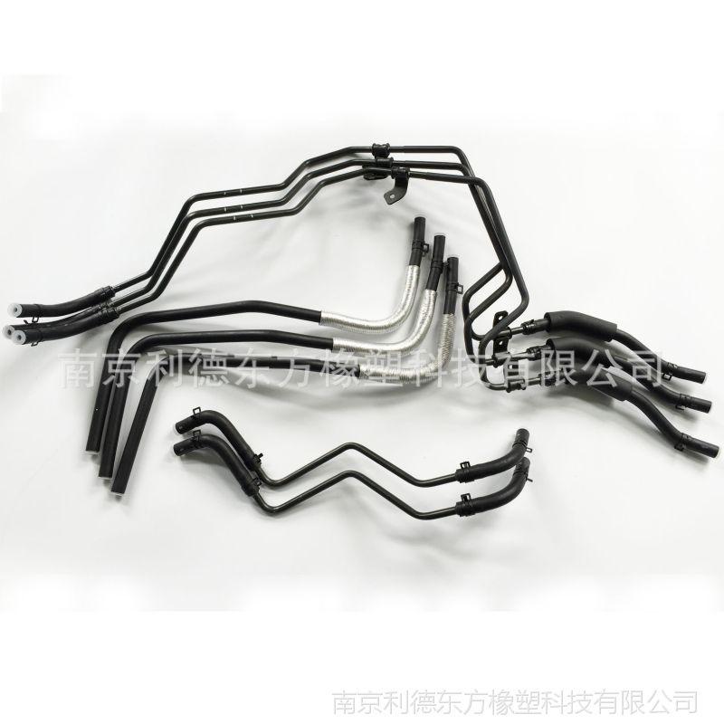 南京7425汽车配件低压动力转向系统软管胶管橡胶总成 加工定制