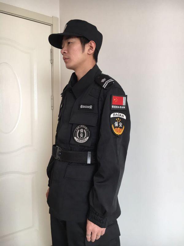 淄博保安特勤服装订做 临沂特勤服定制