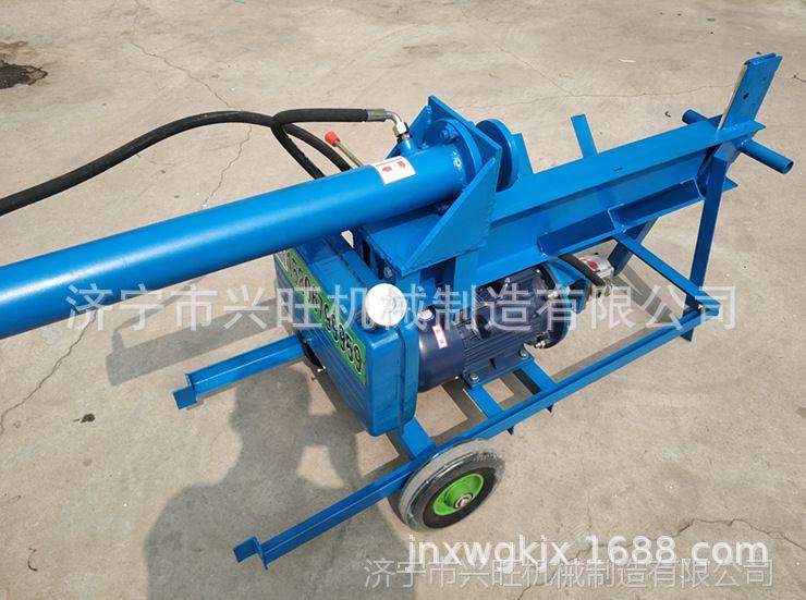 【电动液压劈柴机 液压劈木机开木机电动液压劈柴机劈图片