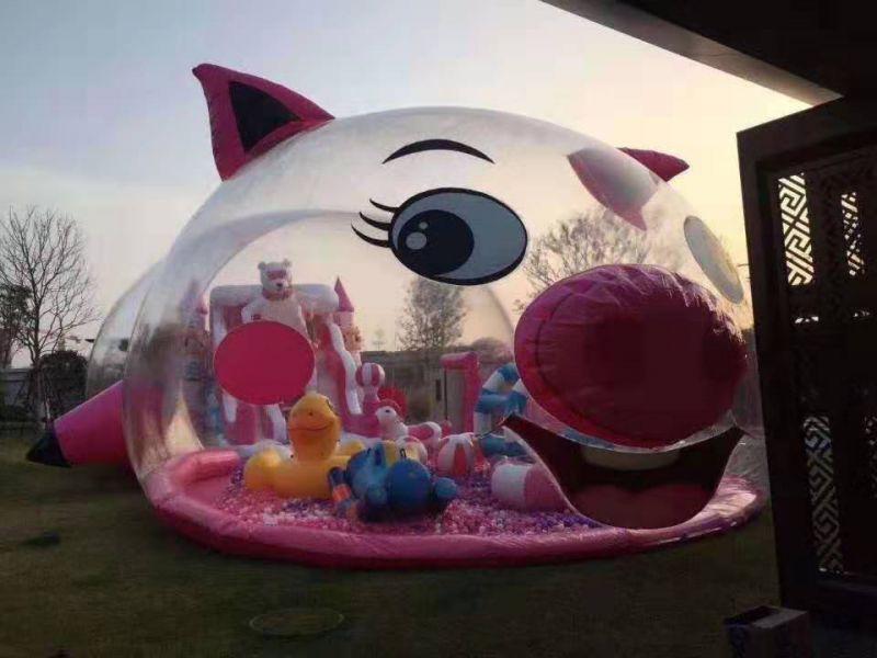 粉红鲸鱼岛乐园租赁粉猪乐园出租