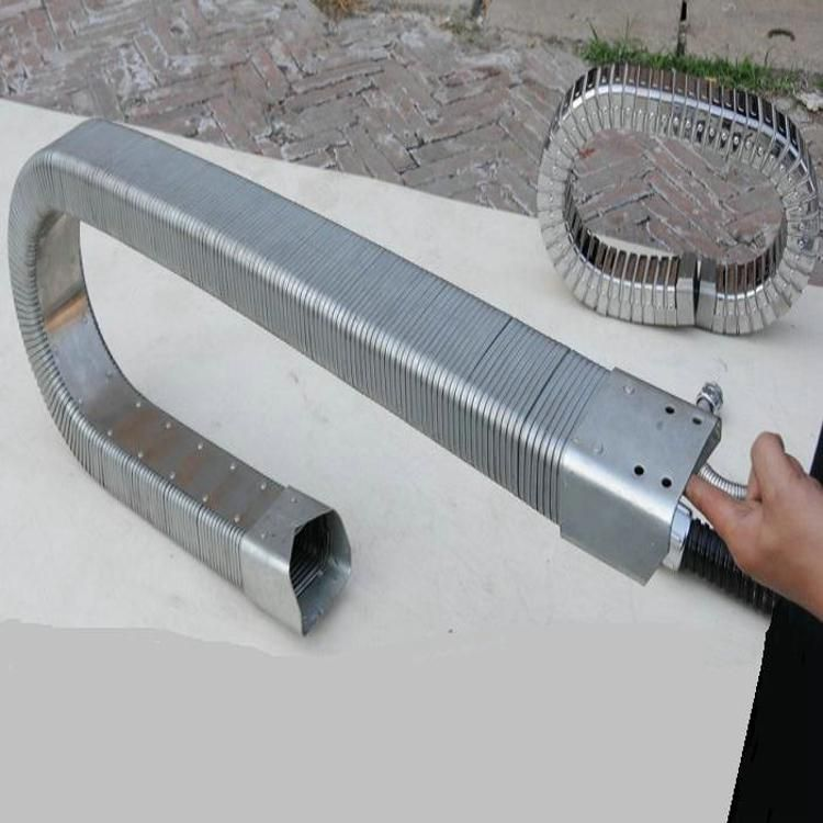 JR矩形软管保护套电线缆传动链金属铁拖链