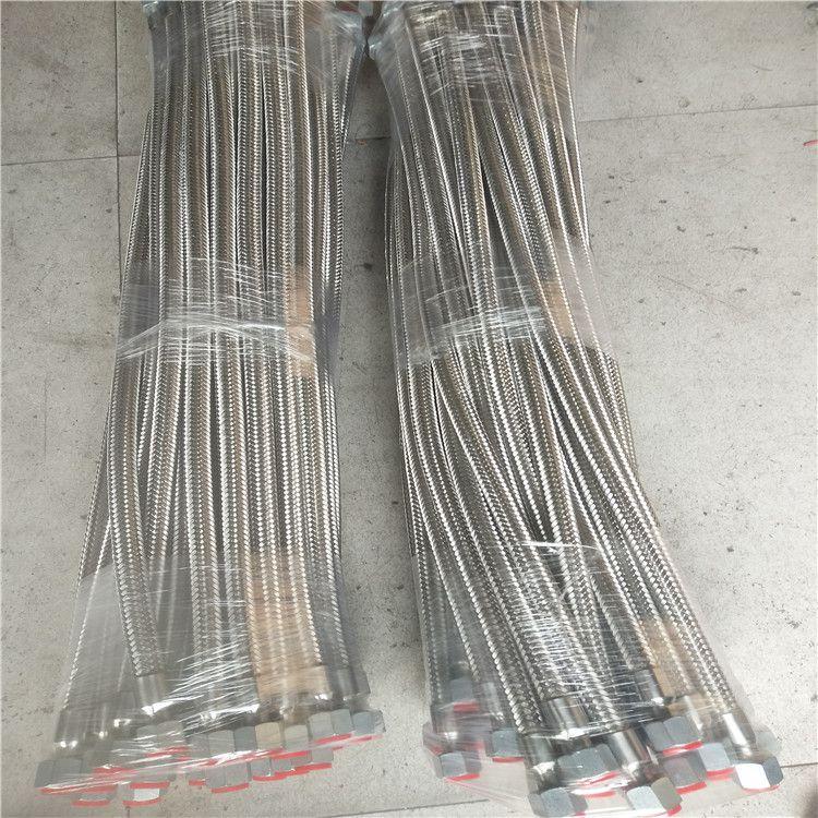 河北直销 各种规格 耐磨耐高温金属软管 大口径不锈钢波纹管批发