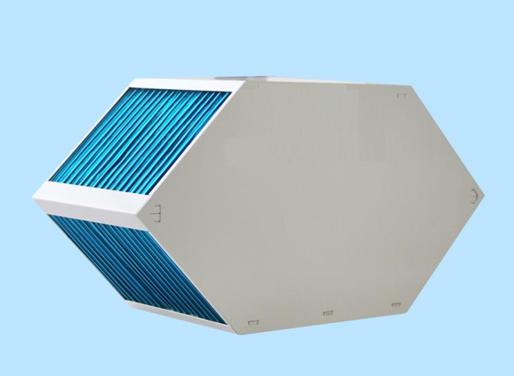 厂家直销 新风六边形显热换热器 通风换气 余热能量回收 降温除湿 畜牧业改造