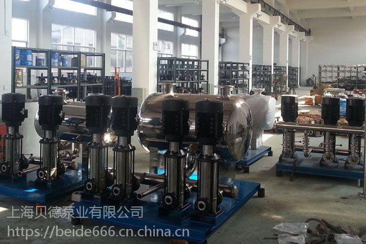 生产销售XBWP100/2-6/2-0.6无负压生活(消防)变频恒压给水设备,稳流罐节能上海厂家