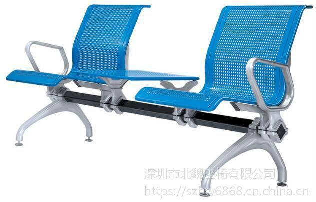 三座铁桌椅*全不锈钢椅子*候车大厅椅