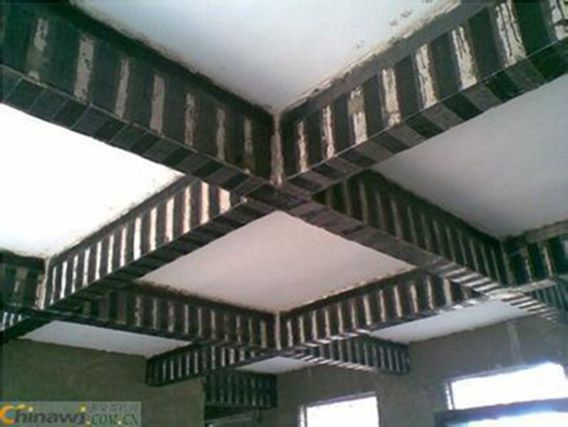 粘贴建筑碳纤维布加固梁方案(图文结合)