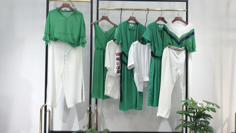 广州女装【哥第】广州女装直播品牌尾货【秋水依人】是哪线品牌