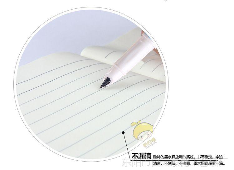 爱好墨水中小学生抽功课可下雨钢笔小学多墨囊本了两用替换图片