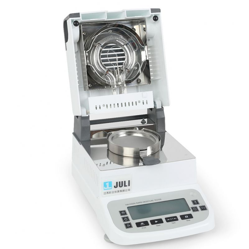巨立JULI水分仪中药样品操作视频