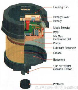 自动注油器  Pulsarlube E120单点加脂杯 美国帕尔萨加脂器正品