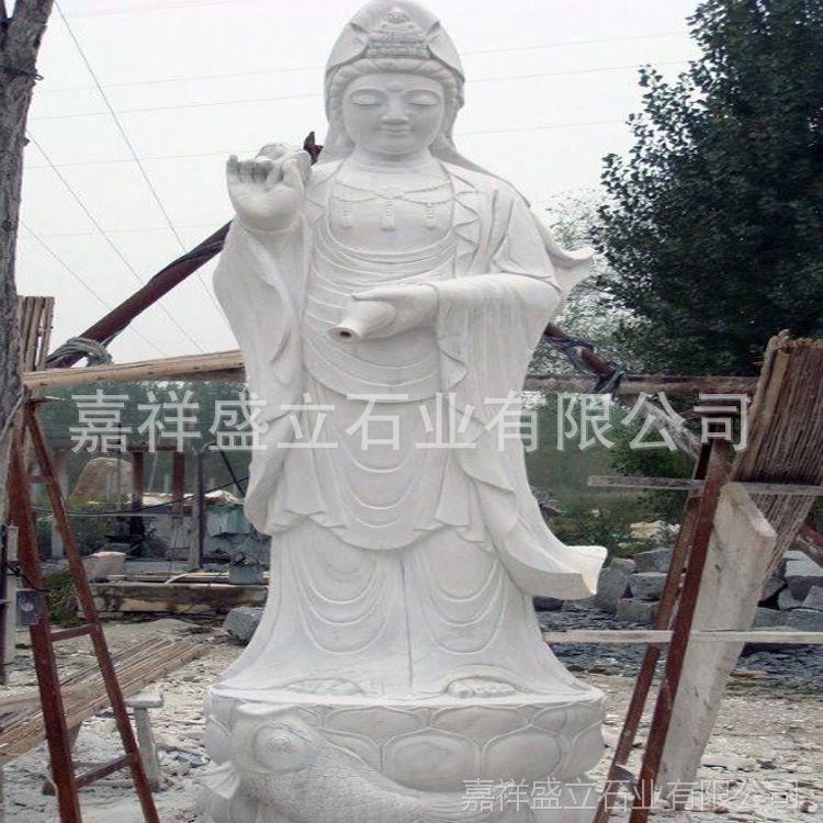 厂家定做石头观音雕像 宗教寺庙观音神像 大型观音菩萨像