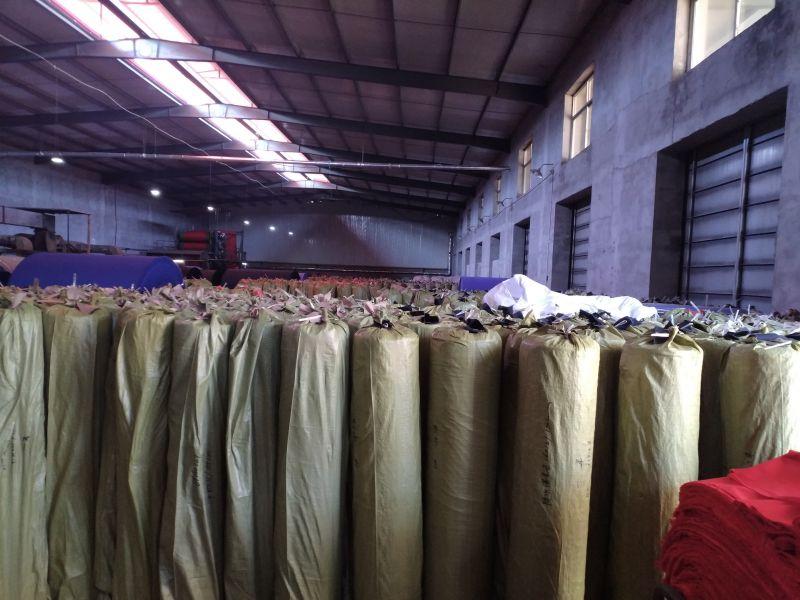 石家庄永益嘉新材料制造有限公司的工厂印染视频
