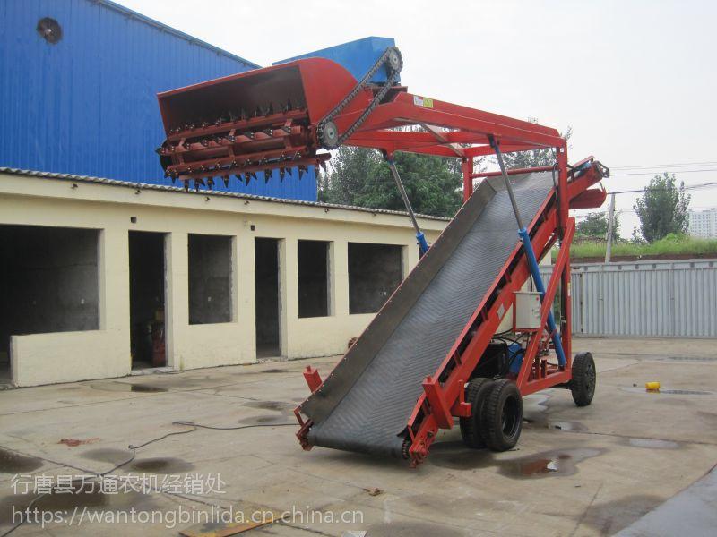 出售牛场新型移动式青贮取料机、 大型牛场专业青贮取料机 宾利达