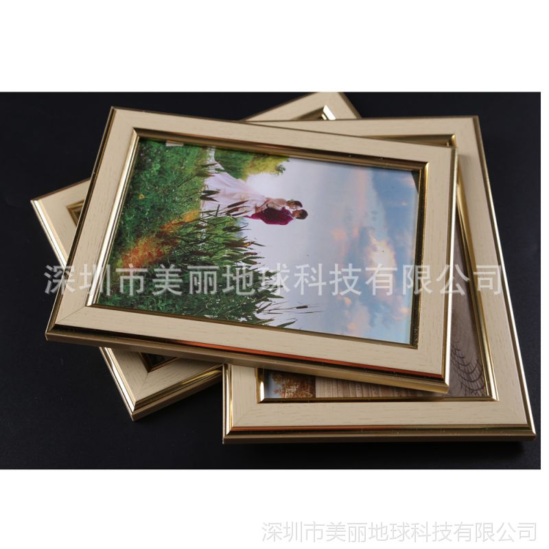 九宫格楼梯照片墙装饰画相片墙复式公寓背景墙创意挂墙相框组合框