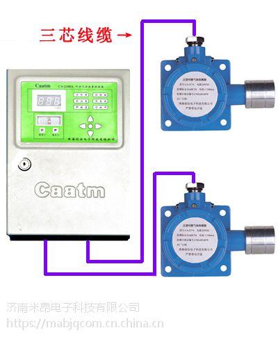 甲醚气体报警器-可燃气体检测设备-济南米昂