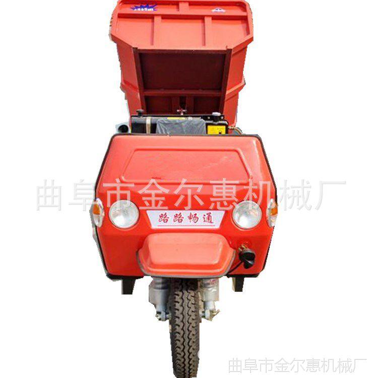 简易棚方向盘三轮车 长期供应柴油三轮车 单缸农用柴油三轮车