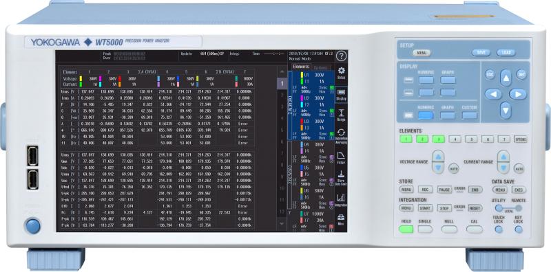 高精度功率分析仪WT5000