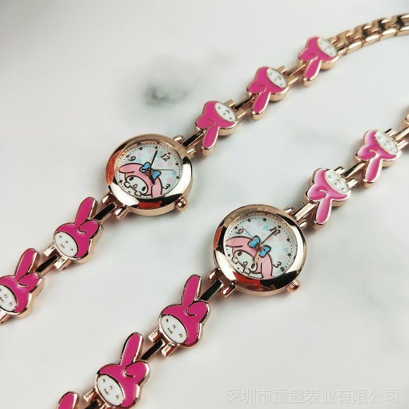 韩版凯蒂猫hello kitty卡通儿童手表美乐蒂兔精美MLD手表厂价直销