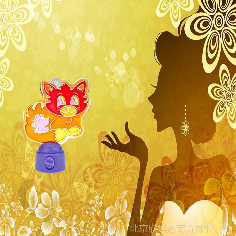 美术王国透光画小夜灯超可爱小巧手工DIY制作小夜灯套装发光玩具