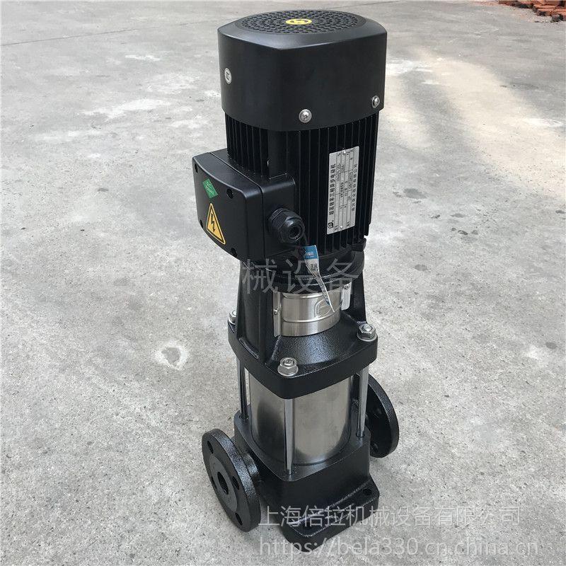 倍拉不锈钢中水转输泵CDL4-7B换热系统循环泵
