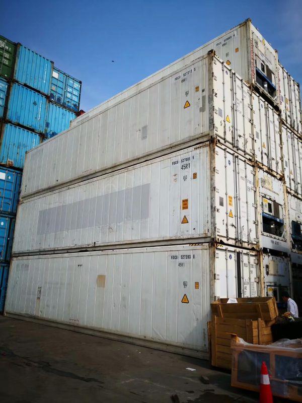 二手冷藏箱供应商!二手冷藏冷冻集装箱,出口出售出租
