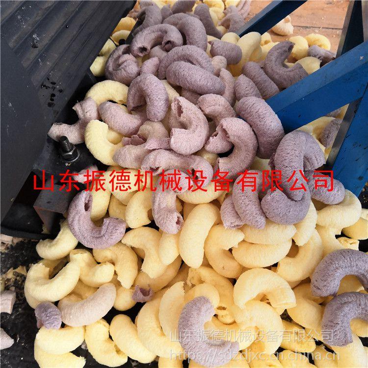 衢州新型多功能膨化机视频 振德大豆藕粉冰糖康乐果机 自熟型海参果空心棒机